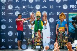 Italo winning the Bali Corona Protected WSL event