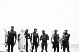 Billabong Team Photo - Winter Wetsuit Buyers Guide