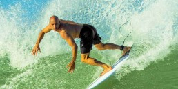 Kelly Slater surfing in Technical Boardshorts