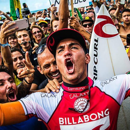 Gabriel Medina, World Champ of Instagram