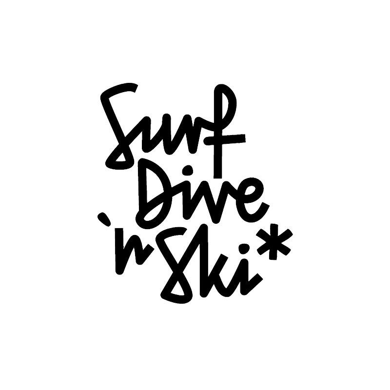 surf dive ski logo