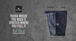 rip curl 3/2/one boardshorts review